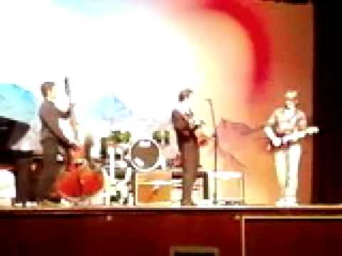 Johnny Cash - Folsom Prison Blues - (Cover)