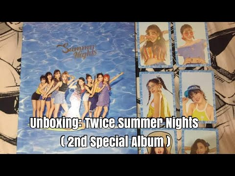 Unboxing: Twice Summer Nights ( 2nd Special Album )