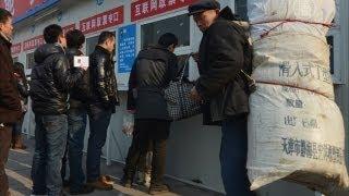 3,5 миллиарда поездок: китайцы едут на Новый год