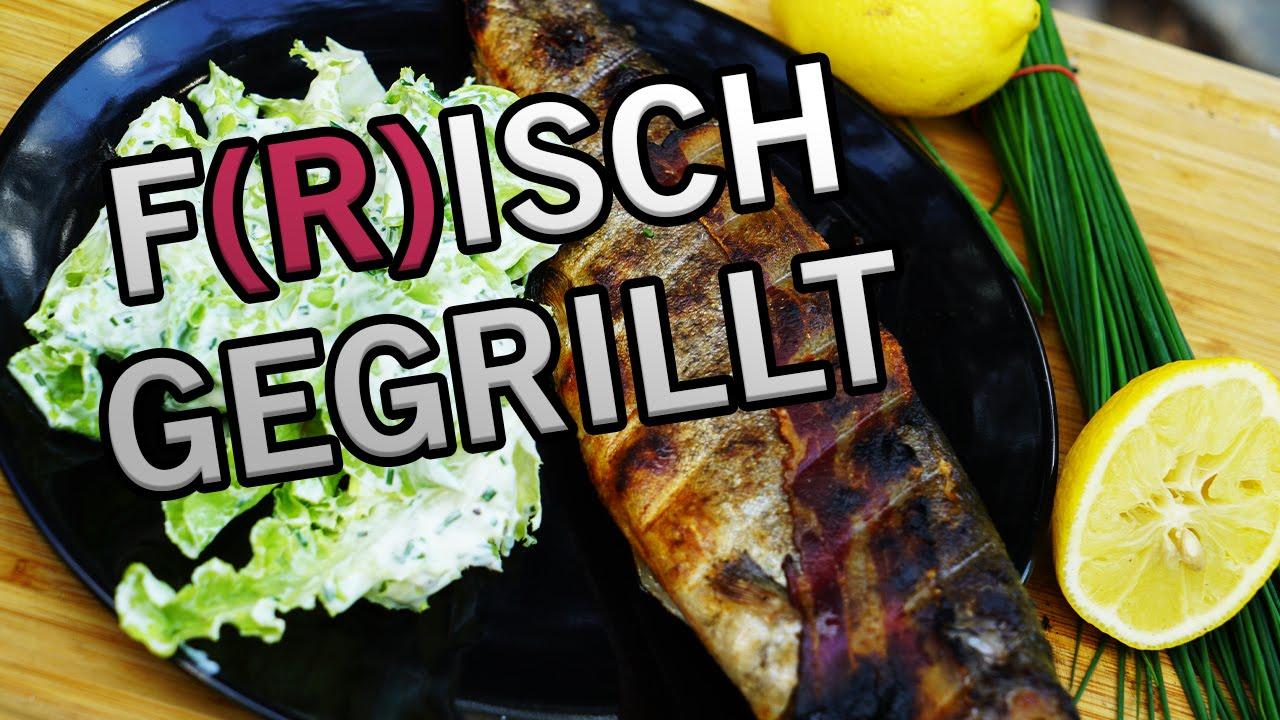 Weber Holzkohlegrill Forelle : Warm geräucherte forellen aus dem ugly drum smoker grillrezepte