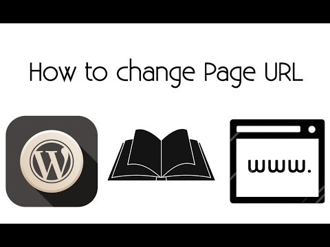 How to change page url in WordPress? Tutorial thumbnail