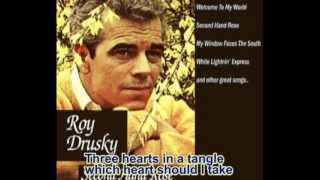 Three Hearts In A Tangle - Roy Drusky (with lyrics)