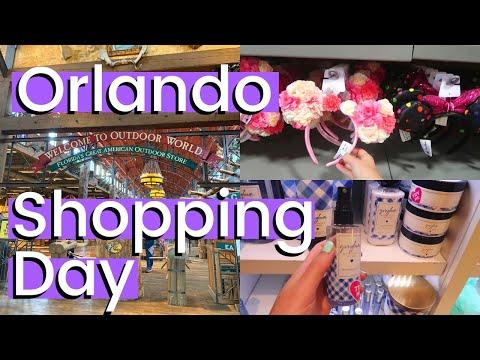 ORLANDO SHOPPING - Premium Outlets, Outdoor World, Cheesecake Factory & Florida Mall | Florida 2020