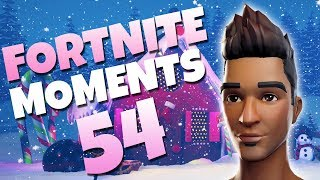 THE LUCKIEST MOMENT OF 2017!! | Fortnite Daily Funny and WTF Moments Ep. 54