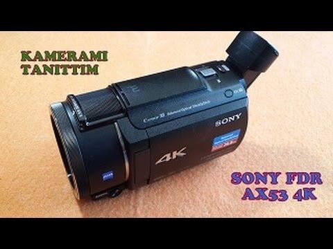 Sony FDR-AX53 - Kompakter 4K Camcorder im Langzeittest