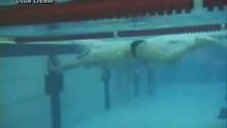 Уроки плавания -  На спине