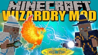 WIZARDRY MOD - Magia EPICA en Minecraft - Minecraft mod 1.7.10 Review ESPAÑOL