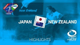 HIGHLIGHTS: Japan v New Zealand - World Mixed Doubles Curling Championship 2018