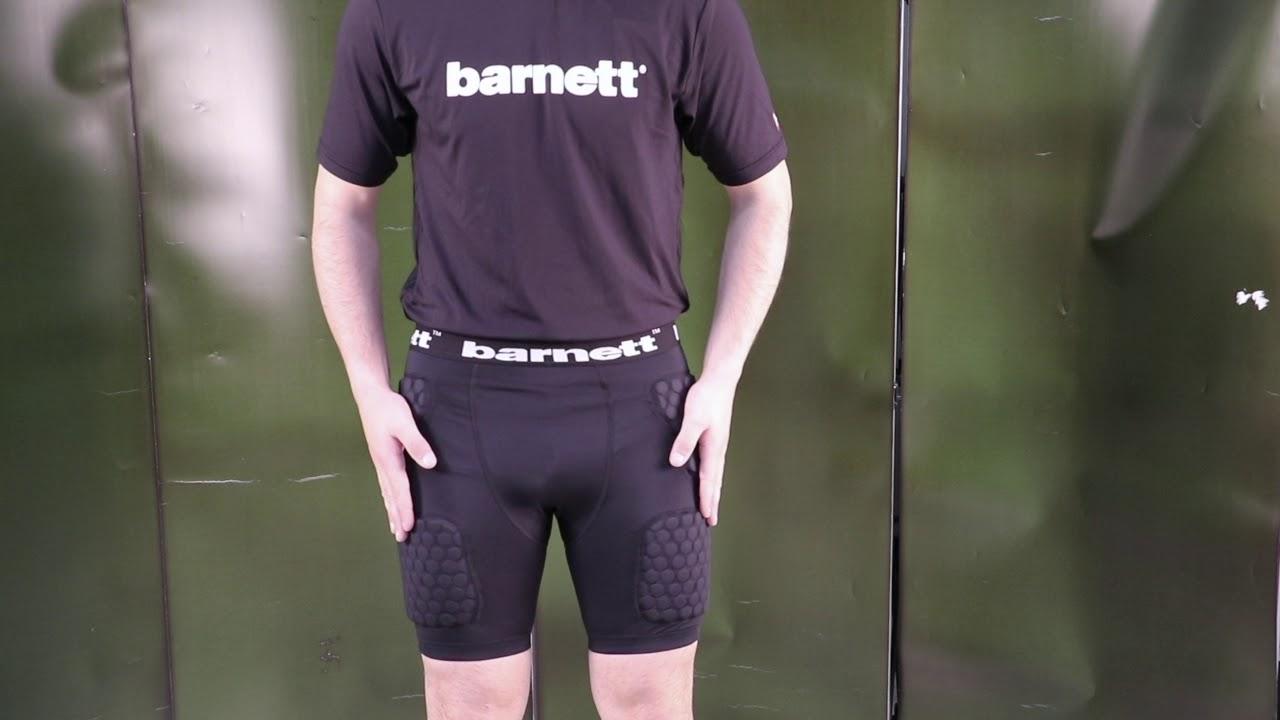 Barnett FS-06 Short de Compression XL Football am/éricain 5 pi/èces int/égr/ées