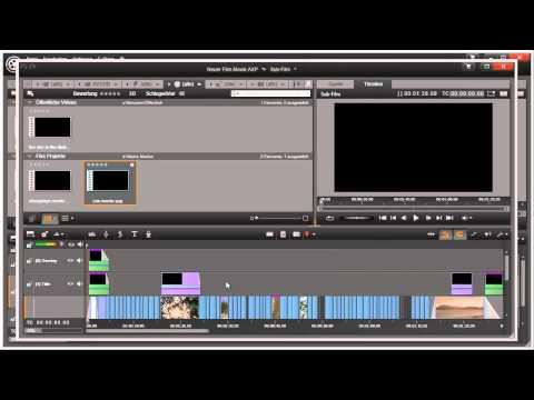 Projekte kombinieren in Pinnacle Studio 16 und 17 Video 65 von 114