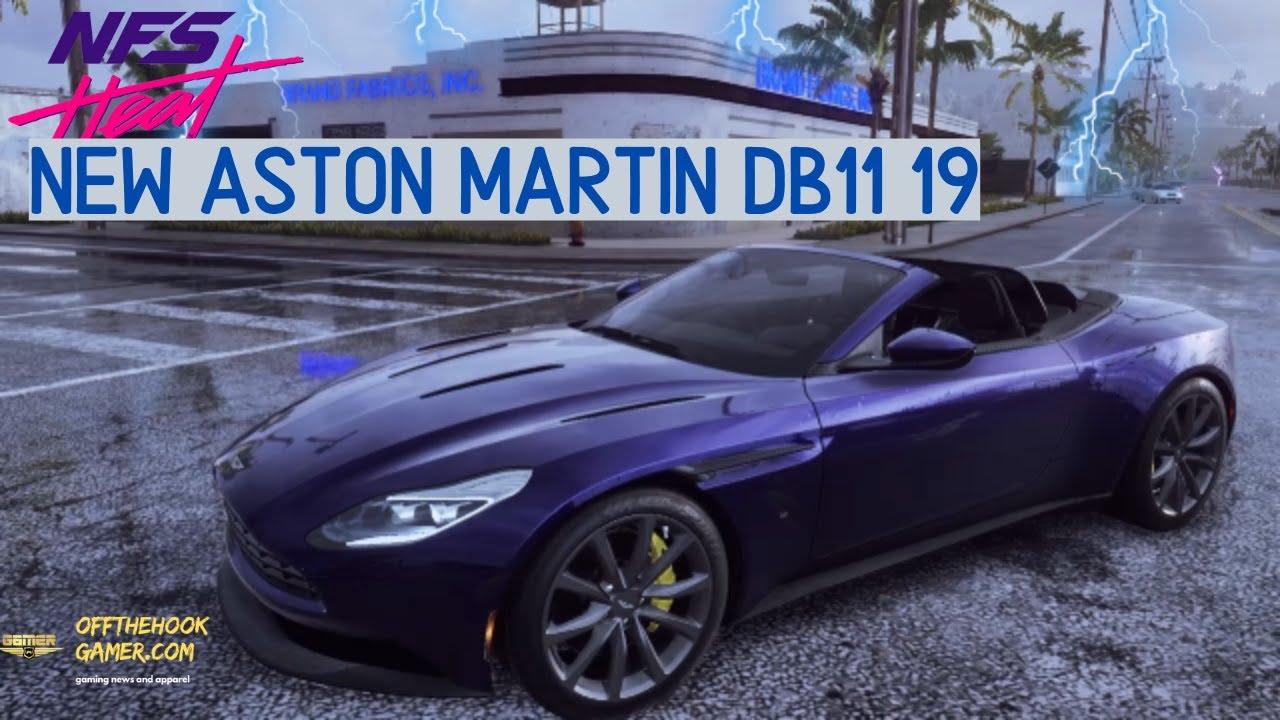 Nfs Heat Aston Martin Db11 Volante 19 Build And Gameplay C Cut Youtube