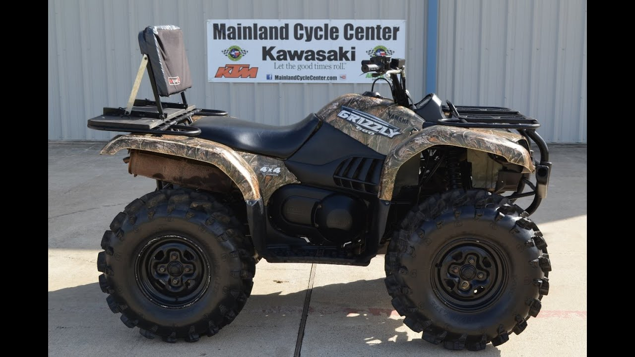 Yamaha Grizzly 660 >> 2008 Yamaha Grizzly 660 Camo Sold Youtube