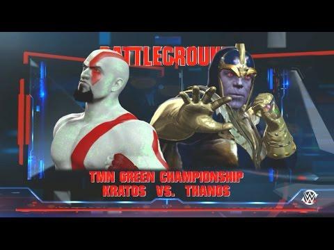 TMN PPV: Galactic Throwdown 5 (11/6/16) WWE2K16