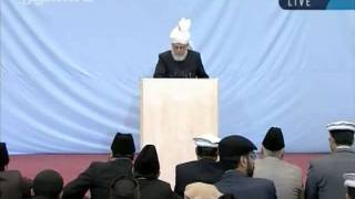 Juma khutbah Hamburg, Germany, 7th-oct-2011-persented by khalid Qadiani ahmadi-clip 1.flv