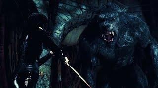 Underworld Awakening | Selene vs Giant Werewolf