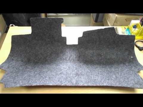 Обзор на облицовку багажника для ВАЗ 2110