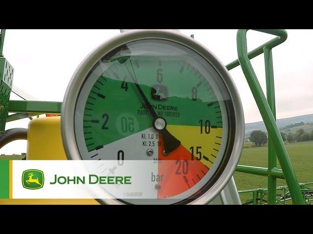 PowrSpray John Deere - Contrôle parfait, pulvérisation précise