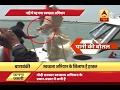 BJP MP Priyanka Singh Rawat throws plastic bottle in river during inspection