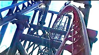 POV of  Chiller (Robin Side) - Six Flags Great Adventure (1999)