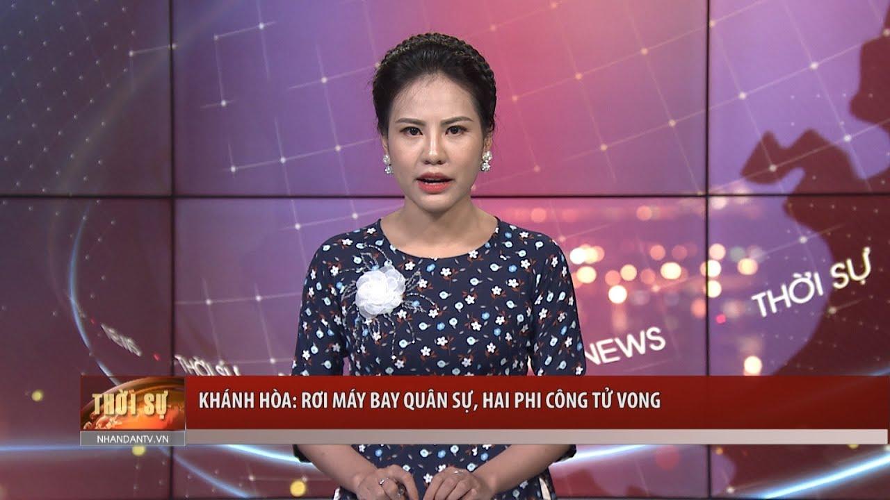 Khánh Hòa: Rơi máy bay quân sự, hai phi công tử vong
