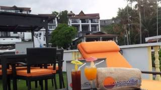 La Laguna Villas and CGrill Floating Restaurant and Bar in Puerto Galera Philippines