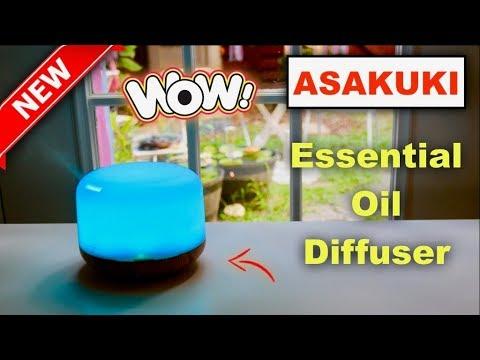 😍-asakuki-❤️-essential-oil-diffuser-500ml---review-✅