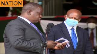 Uhuru receives first Huduma Namba card -VIDEO