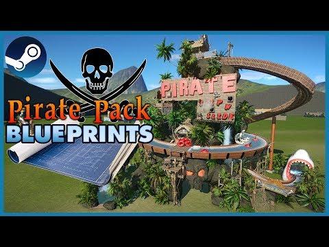 Blueprint Spotlight 30: Pirate Pack Challenge! #PlanetCoaster