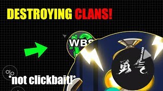 DESTROYING CLANS in AGAR.IO MOBILE: NOX /DARK /SIKE CLAN   CRAZY MACRO PRESPLITS in AGARIO!