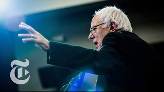360 VR Video: Bernie Sanders Rally | Election 2016 | The New York Times