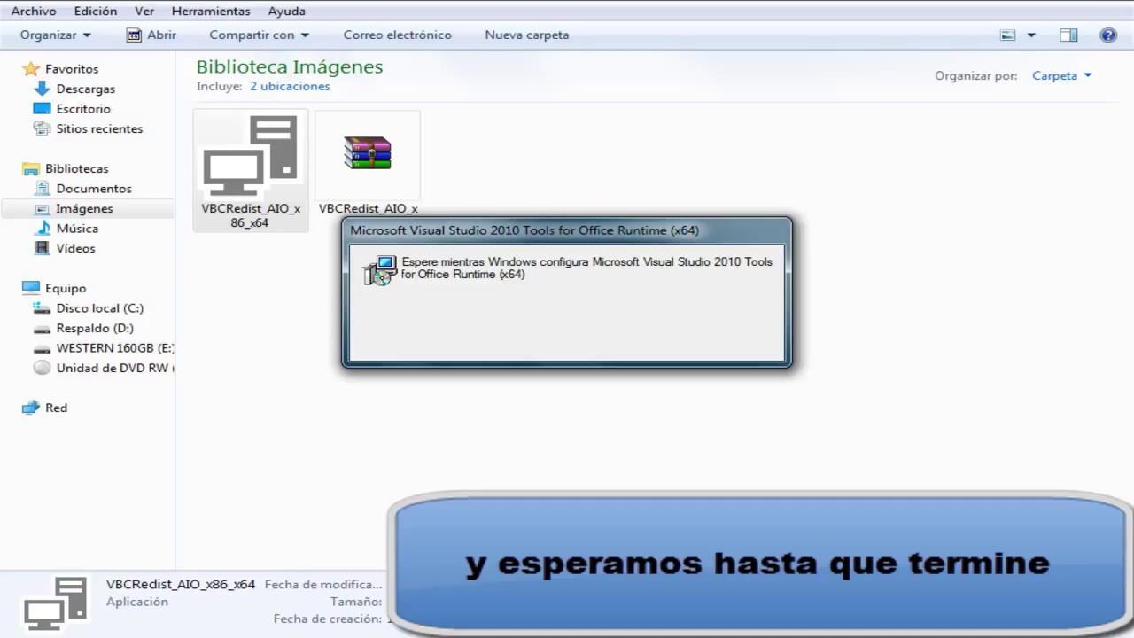 Pack Microsoft Visual C++ Vcredist 32 y 64 Bit