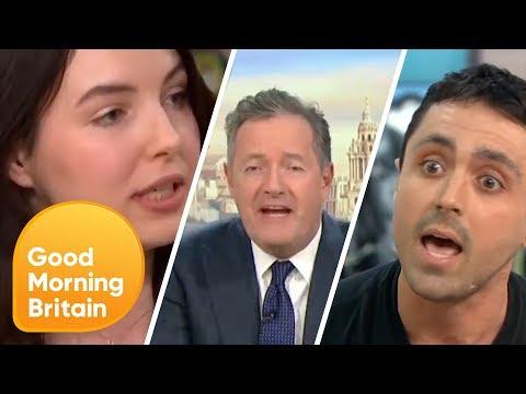 Piers Morgan's Most Fiery Vegan Debates Ever! | Good Morning Britain