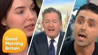 Download Piers Morgan's Most Fiery Vegan Debates Ever! | Good Morning Britain Mp3 and Videos