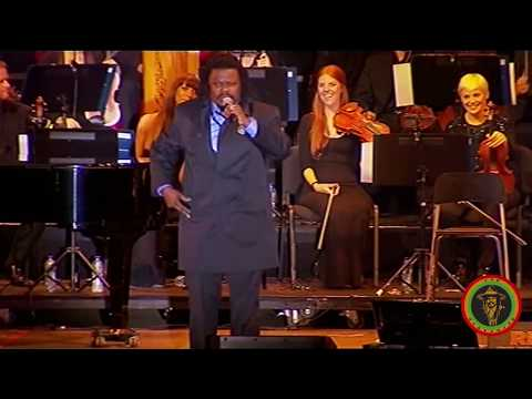 Luciano performing with the Royal Philharmonic Orchestra - F