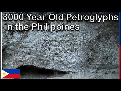 3000 Year Old Petroglyphs in the Philippines!