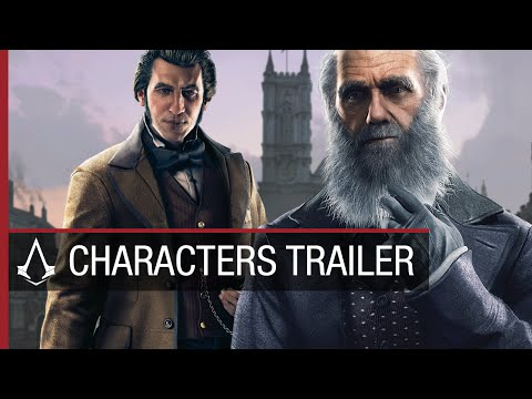 Assassin's Creed Syndicate Historical Characters Trailer [US]