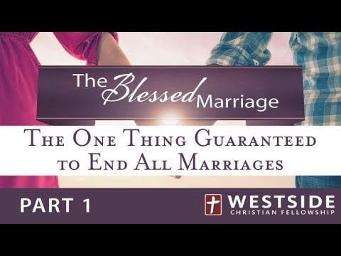 """9/24/17 """"THE ONE THING GUARANTEED TO END ALL MARRIAGES"""" –Pastor Shane Idleman"""