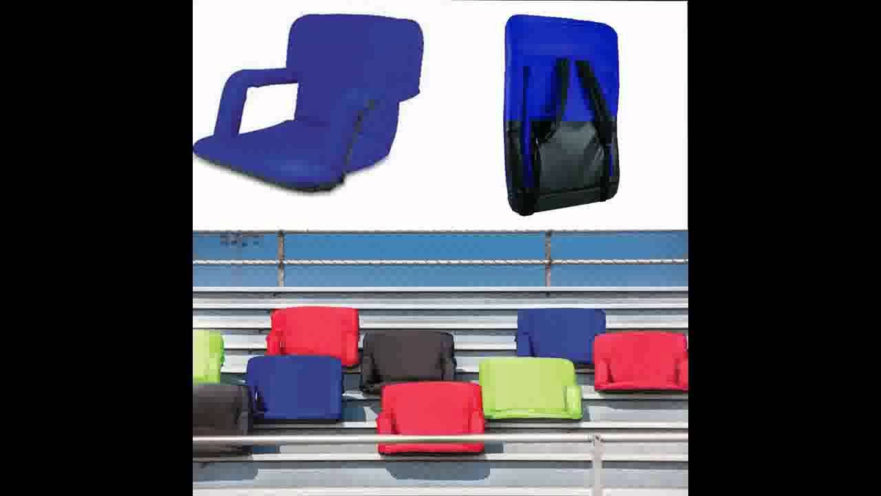 Stadium chair amp stadium bleacher chairs sportsunlimited com source - Portable Bleacher Seat Cushion Stadium Chair Seat 10 Portable Bleacher Seat Cushion Stadium Chair Seat
