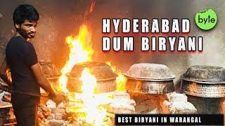 Amazing Chicken Dum Biryani Preparation | Biryani for 100 Rs | Best Biryani in Warangal