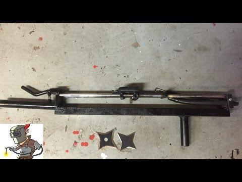 DIY ninja star gun