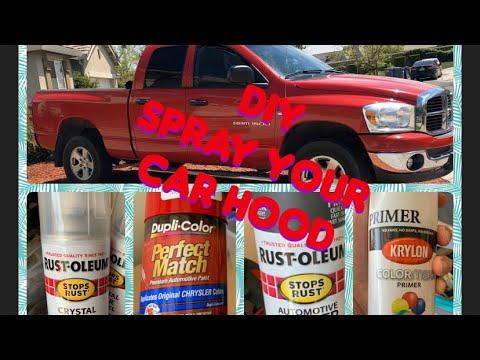 DIY Spray Can On Truck Fail. Spray Paint Job Fails - YouTube