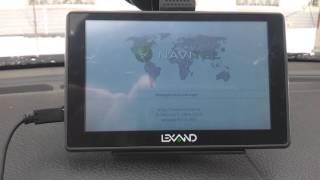 Навигатор Lexand SA5 HD+