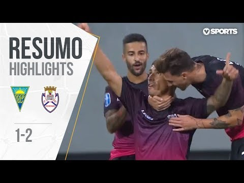 Highlights | Resumo: Estoril 1-2 Feirense (Allianz Cup #1)