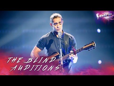 René Le Feuvre sings I Like Me Better | The Voice Australia 2018