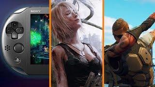 Sony Making Vita 2? + New Parasite Eve Trademark + Kids In Rehab Over Fortnite