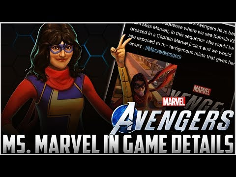 Marvel's Avenger Game - Ms. Marvel CONFIRMED SEEN In Gameplay Demo SDCC 2019!