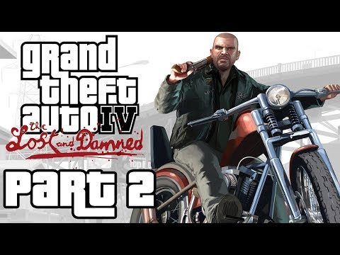 "Grand Theft Auto 4: The Lost And Damned - Let's Play - Part 2 - ""Stealing Bikes And Crooked Cops"""
