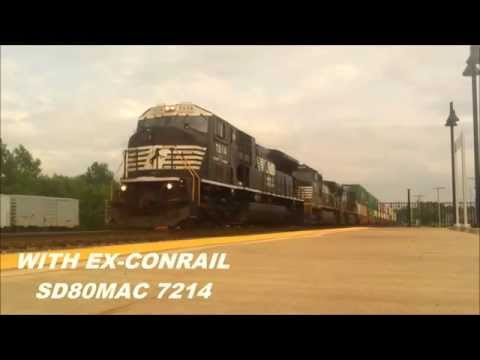 A Day of Trains in Alliance, Ohio [HD]