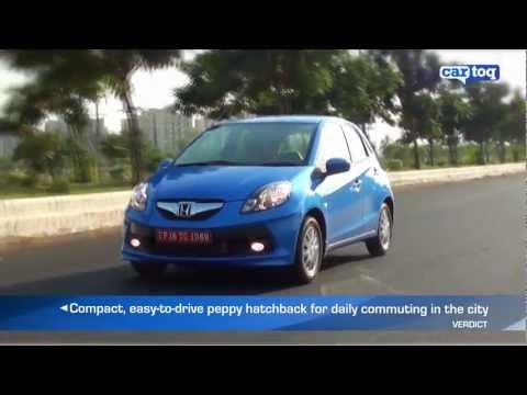 Honda Brio Video review and road test by Cartoq.com