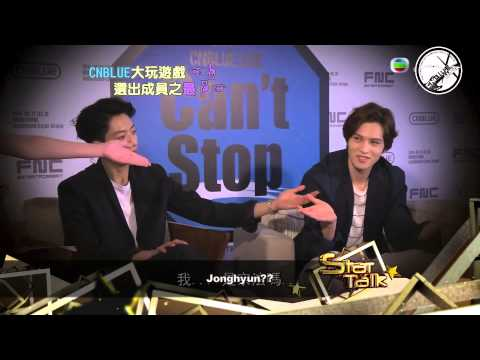 [ENG SUB] 140527 CNBLUE Star Talk Hong Kong Interview